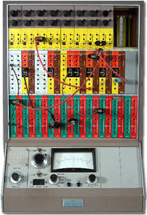 image of the Electronic Associates Inc., TR-10 analog computer