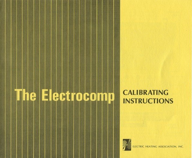 Calibrating Instructions Cover