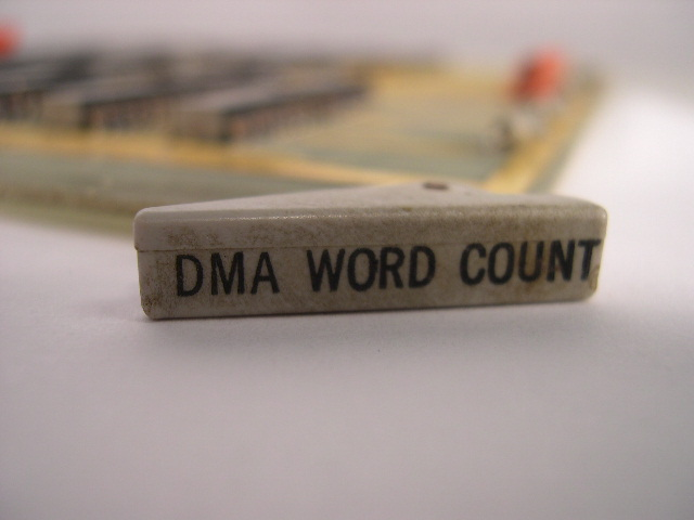 DMA word count board side label.