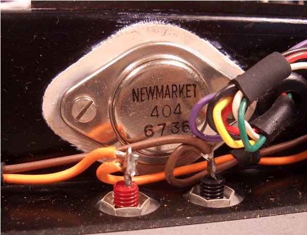 image of A Newmarket transistor.