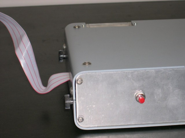 image of Close up of the front of the printer.