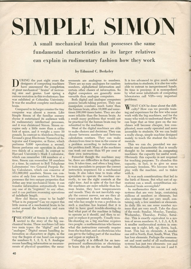 Opening page of the article.