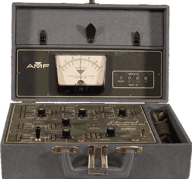 EarlyComputers: The AMF Educational Computer Model 665/D